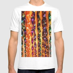 Wind Chimes Mens Fitted Tee White SMALL