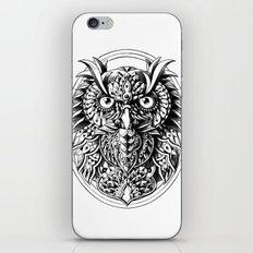 Owl Portrait iPhone & iPod Skin