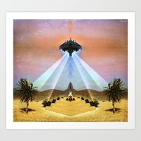Astral Messenger Art Print