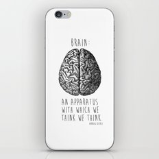 Brain iPhone & iPod Skin