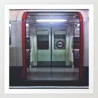The tube Art Print