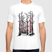 Hide And Seek Mens Fitted Tee White SMALL