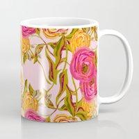 Ranunculus Garden Mug