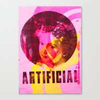 Artificial Single Canvas Print