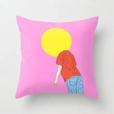 Ball Head Throw Pillow