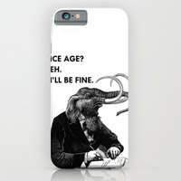 iPhone & iPod Case featuring Ice Age by Toro Lobo