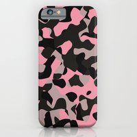 Pink Kitty Camo iPhone 6 Slim Case