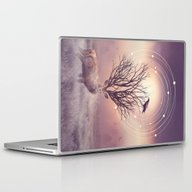 Laptop & iPad Skin featuring In The Stillness by Soaring Anchor Desig…