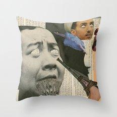 Dada Throw Pillow