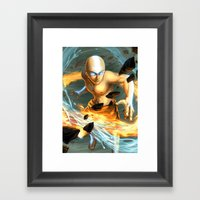 Aang Framed Art Print