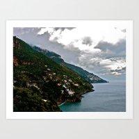 Amalfi Coast, Italy Art Print