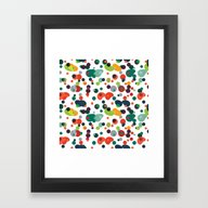 Framed Art Print featuring Spotted by Akwaflorell