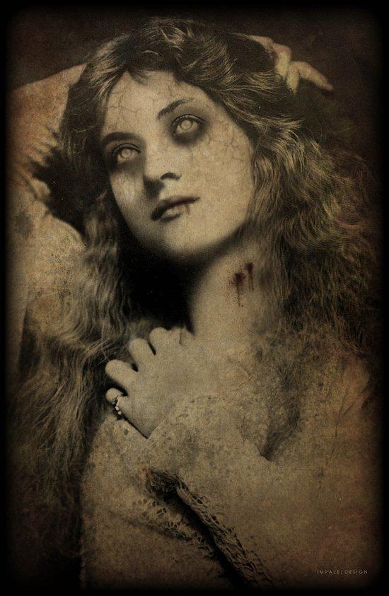 Virgin Vampire Canvas Print