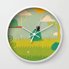 LILLL Monsters Wall Clock