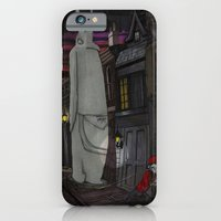 iPhone & iPod Case featuring Schlepping Towards Bethlehem by Richard J. Bailey