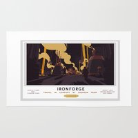 Ironforge Classic Rail Poster Rug