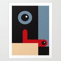 MASTER & SERVANT Art Print