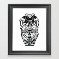Wise Owl Framed Art Print