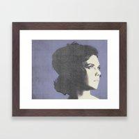 Natalie Framed Art Print