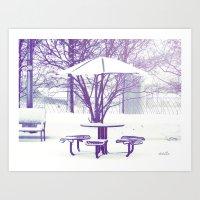 Sit Down With Me??? Art Print