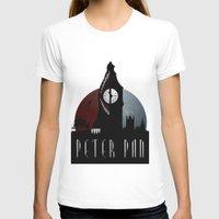 peter pan T-shirts featuring Peter Pan by Rowan Stocks-Moore