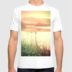 Reeds Mens Fitted Tee SMALL White