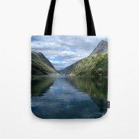 Rondane - Rondevannet  Norway Tote Bag