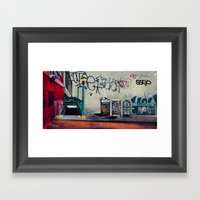 The New York Underground Framed Art Print