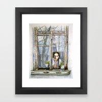 Fragments Of My Childhoo… Framed Art Print