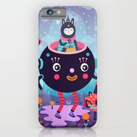 Amigos cósmicos iPhone 6 Slim Case