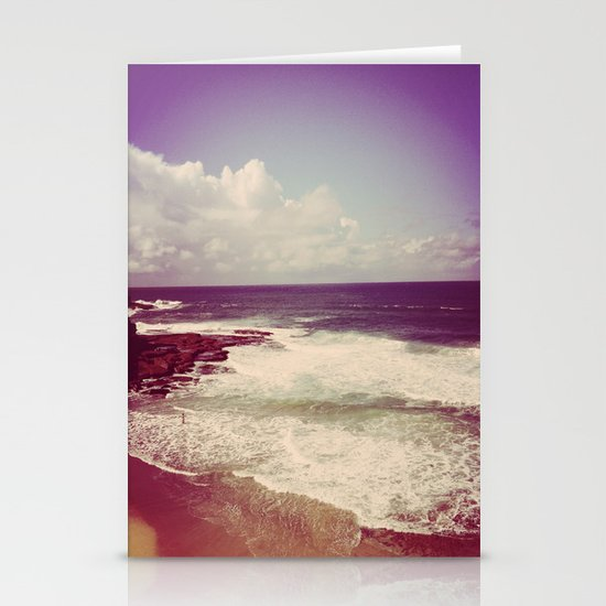 Winter Waves Stationery Card