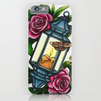 iPhone & iPod Case featuring A Moth to the Flame by WesSide