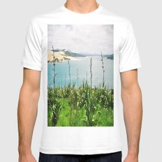 Opononi Mens Fitted Tee White SMALL