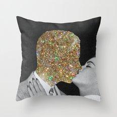 Gold Digging Throw Pillow