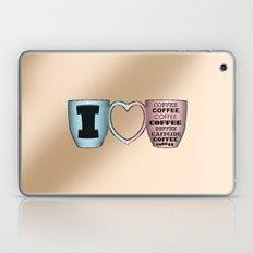 I LOVE CAFFEINE Laptop & iPad Skin