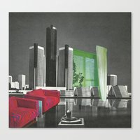 The City As Home 1 Canvas Print
