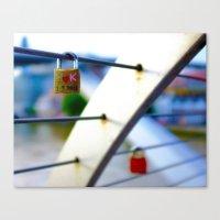 Love Locks 2012 08 Canvas Print