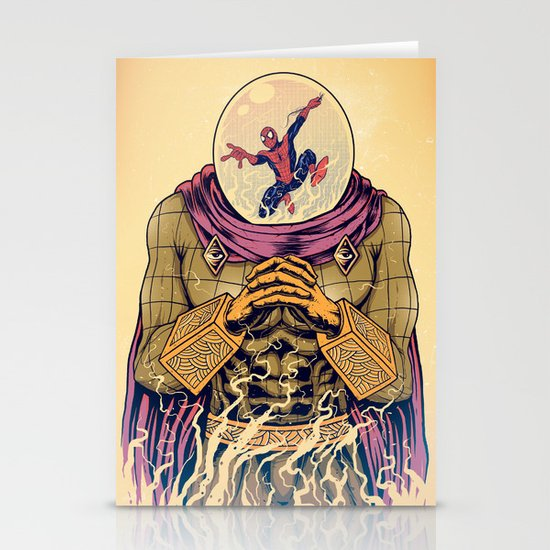 Mysterio Stationery Card