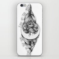 Live by the Sun, Love by the Moon iPhone & iPod Skin