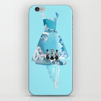 Filled With Blue iPhone & iPod Skin