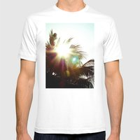 Against Mens Fitted Tee White SMALL