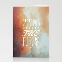 CREATIVES CREATE THE FUT… Stationery Cards