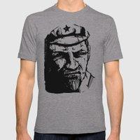 Vladimir Ilyich Lenin Mens Fitted Tee Athletic Grey SMALL