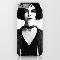 iPhone & iPod Case featuring Mathilda by Ruben Ireland