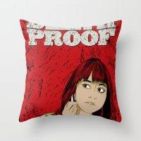 D.P.#02 Throw Pillow