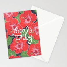 Locals Only Stationery Cards