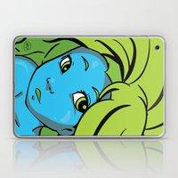 Mermaid Me Happy Laptop & iPad Skin