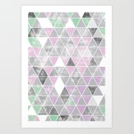 Art Print featuring Plumbobs, Triforces Or C… by Deligracy
