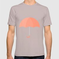 #71 Umbrella Mens Fitted Tee Cinder SMALL