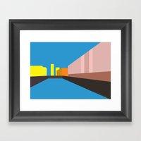 Berlin Perspectives - Pa… Framed Art Print